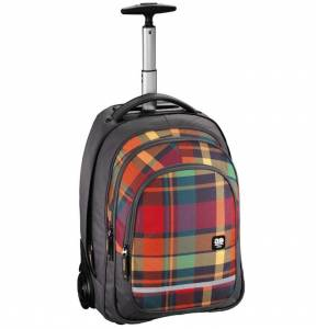 Plecak na kółkach Hama All Out Trolley Bolton Woody Orange 32L