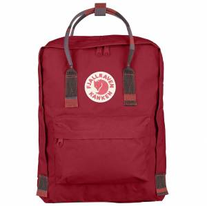 Plecak Fjallraven - Kanken Deep Red / Random Blocked 16L