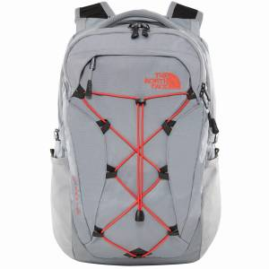 Plecak The North Face Women's Borealis - Mid Grey / Juicy Red 25L