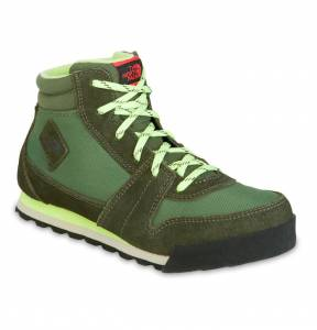 Buty The North Face Back To Berkeley 68 Green R: 33,5 (21cm)