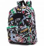Plecak Vans Realm Backpack White Multi 22L