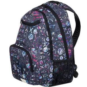 a30cee49c70e6 Plecak szkolny ROXY Shadow Swell - Charcoal Heather Surf Letterin 24L