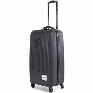 Torba na kółkach Herschel - walizka Trade Large Travel Black 53L