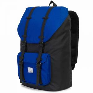 Plecak Herschel - Little America Surf The Web / Black Rubber 25L