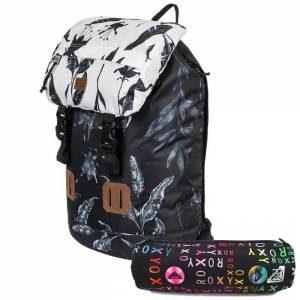 Plecak ROXY+ piórnik Sunset Pacific - Anthracite Love Letter 25L