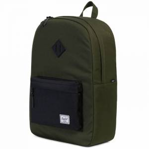 Plecak Herschel - Heritage Forest Night / Black Rubber 21L