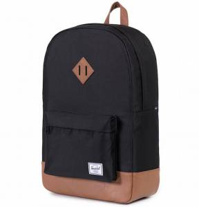 Plecak Herschel - Heritage Black / Tan Leather 21L