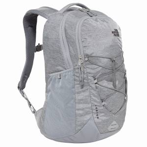 Plecak The North Face Jester -  Mid Grey Dark Heather\Tnf Black 28L