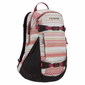 Plecak Burton - Day Hiker Women's Aqua Gray Revel Stripe Print 25L