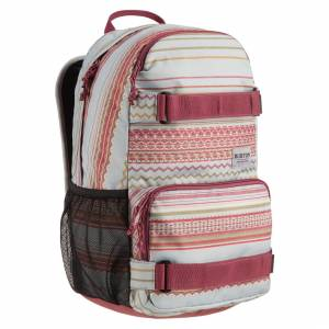 Plecak Burton - Treble Yell  Aqua Gray Revel Stripe Print 21L