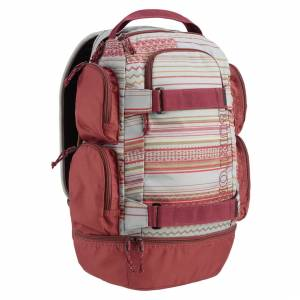 Plecak Burton - Distortion Aqua Gray Revel Stripe Print 29L