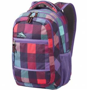 Plecak High Sierra TOIYABE PURPLE CHECKS 25L