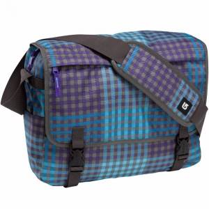 Torba Burton Synth Messenger Cheeky Plaid