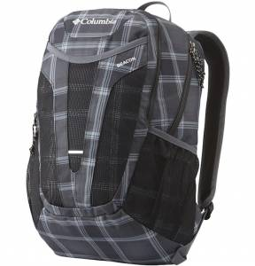 Plecak Columbia Beacon Daypack - Black Plaid 24L