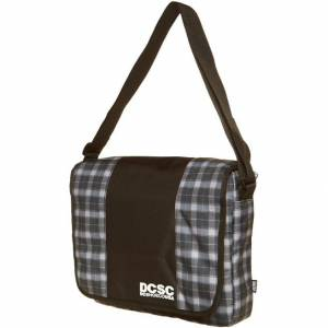 Torba DC Schoes Black Plaid