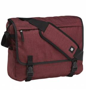 Torba na laptopa Burton Synth Messenger Sangria