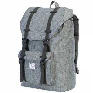 Plecak Herschel - Little America Mid-Volume Raven Crosshatch / Black 17L