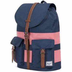Plecak Herschel - Dawson Navy / Strawberry Ice Rugby Stripes 21L