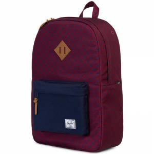 Plecak Herschel - Heritage University Windsor Wine / Peacoat 21L