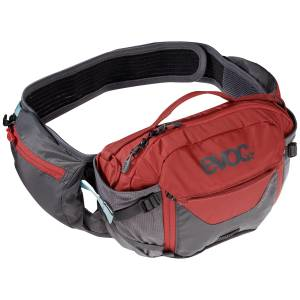 Nerka Evoc Hip Pack Pro + bukłak 1,5L Carbon Chilli Red 3L