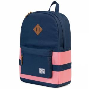 Plecak Herschel - Heritage Navy / Strawberry Ice Rugby Stripes 21L