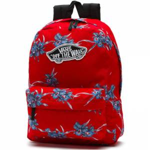Plecak Vans Realm Backpack Tomato Hawaiian 22L