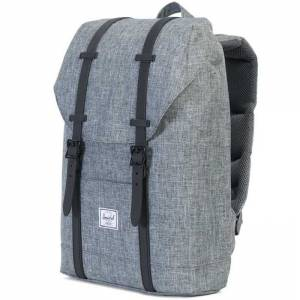 Plecak Herschel - Retreat Mid-Volume Raven Crosshatch / Black Rubber 14L