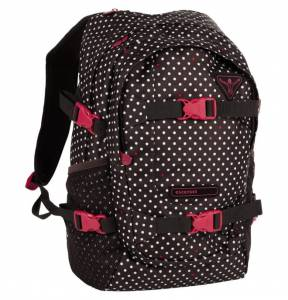 Plecak Hama School  - Dots Black Coffee 25L