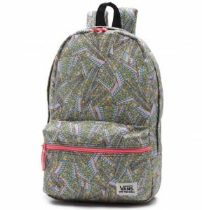 Plecak Vans Calico Abstract Black/True White 12L