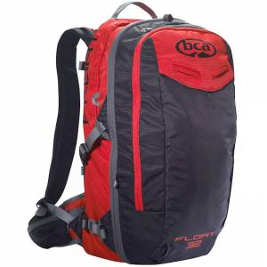 Plecak lawinowy Backcountry Access Float Black Red 32L