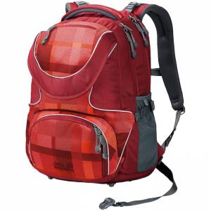 Plecak Jack Wolfskin - Ramson 26 Pack Indian Red Woven Chceck 26L