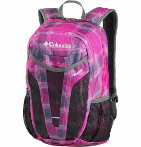 Plecak Columbia Beacon Daypack - Punch Pink Plaid 24L