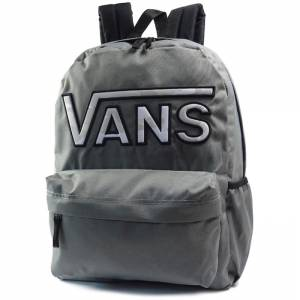 Plecak Vans Realm Backpack Flying V Pewter Grey 22L