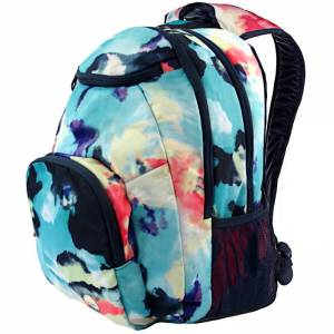 30ba600f61915 Plecak szkolny ROXY Shadow Swell - Placid Blue Cloud Nine 24L
