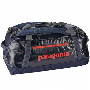 Torba na ramię Patagonia - Black Hole Duffel Navy Blue / Paintbrush Red 60L