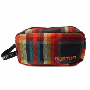 Piórnik Burton Accessory Case saszetka Majestic Black Plaid