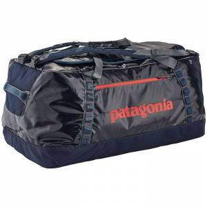 Torba na ramię Patagonia - Black Hole Duffel Navy Blue / Paintbrush Red 120L