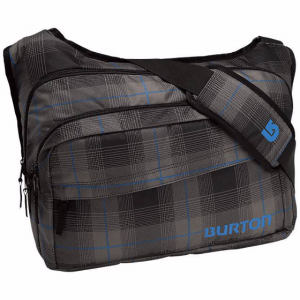 Torba Burton Egger Messenger Fixer Plaid