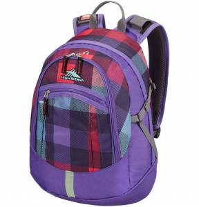 Plecak High Sierra Overton PURPLE CHECKS 24L
