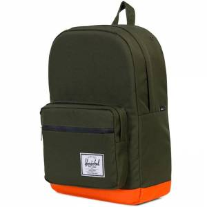 Plecak Herschel - Pop Quiz Forest Night / Vermillion Orange 20L