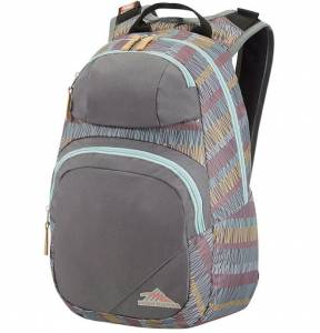 Plecak High Sierra PINEGA GREY STRIPES 25L