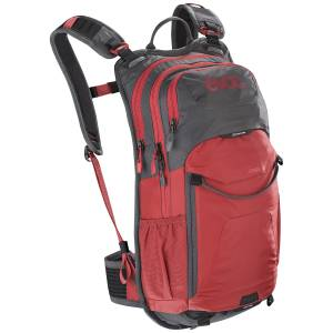 Plecak rowerowy Evoc Stage Carbon Grey Chili Red 12L