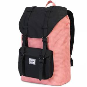 Plecak Herschel - Little America Mid-Volume Strawberry Ice Grid / Black 17L