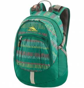Plecak High Sierra Overton GREEN STRIPES 24L
