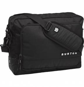 Torba Burton Egger Messenger True Black