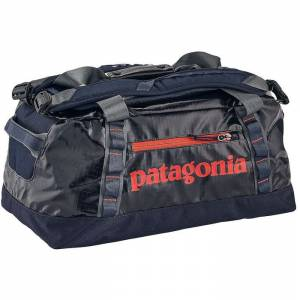 Torba na ramię Patagonia - Black Hole Duffel Navy Blue / Paintbrush Red 45L