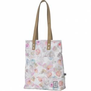 Torba The Pack Society - Shopper Off White Petals Allover