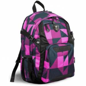 Plecak na laptopa JWorld New York - Haid Block Pink 25L