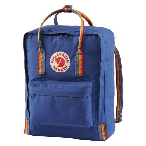 db9aa83a34e7a Plecak Fjallraven - Kanken Rainbow Deep Blue 16L w plecaki.com